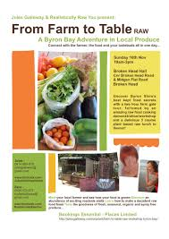 from farm to table farm to table raw workshop jules galloway naturopath