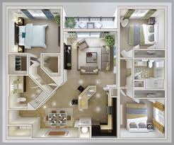 Ouse Plans Floor Plan For Small Sf House With And Inspirations Inside 3