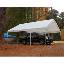Enclosed Car Canopy by Amazon Com Hercules Canopy Powder Coated Frame 18ft X 20ft Patio