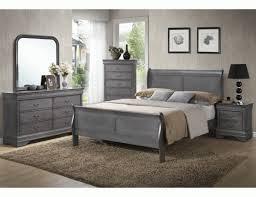 caroline grey sleigh bedroom set i have this set in black and