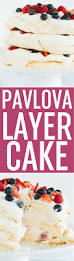 Door Is Whipped Mint By Pavlova Layer Cake With Whipped Cream U0026 Berries Brown Eyed Baker