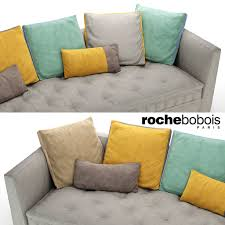 carpe diem sofa by roche bobois 3d model cgtrader