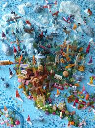 Chicago Shootings Map by 3d Illustrated Map Of North America Vivid Maps