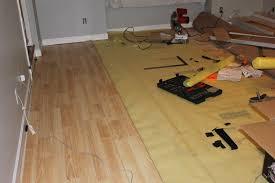 peahen pad installing laminate flooring