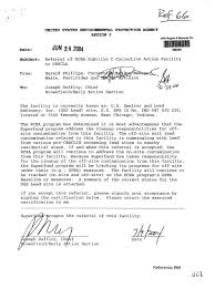 timeline history of the uss lead superfund site in e c