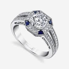 sapphire accent engagement rings blue sapphire accent engagement rings archives team 570 luxury