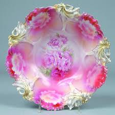 rs prussia bowl roses 7 best images about porcelain china plates on