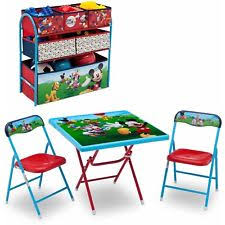 mickey mouse kids table mickey mouse chair ebay