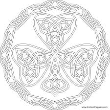 don u0027t eat the paste shamrock coloring page 2015