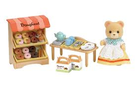 sylvanian families doughnut store 5239 from austins