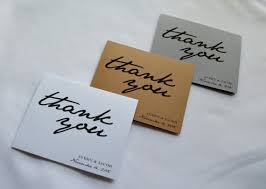 personalized thank you cards custom thank you cards customize name and date thank you