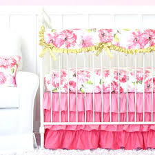 Gray And Pink Crib Bedding Light Pink Crib Bedding