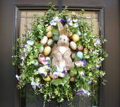 Easter Door Decorations Sale by Now On Sale Easter Wreath Easter Bunny Wreath Front Door Wreath