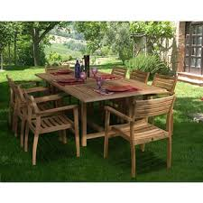 Wooden Patio Dining Set Teak Outdoor Dining Sets For Less Overstock