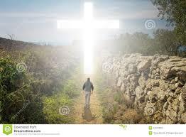 walk to the cross stock photo image of night jesus 44212832