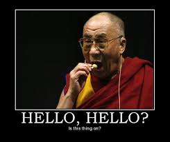 Peace Meme - did you know the dalai lama was banned from a nobel peace summit
