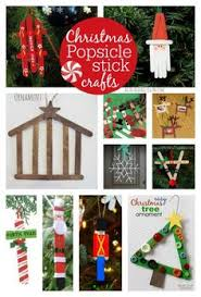 christmas popsicle stick crafts for kids to make popsicle stick