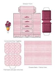 Free Miniature Dollhouse Furniture Plans by Free Printable Dollhouse Furniture Found On Blackwidow12