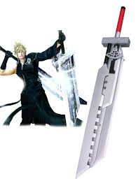 Cloud Strife Halloween Costume Final Fantasy Vii Advent Children Cloud Strife Fusion Swords