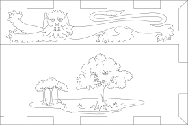 qatar map colouring pages