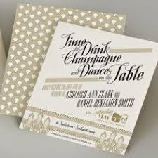 gatsby wedding invitations great gatsby wedding invitations kawaiitheo