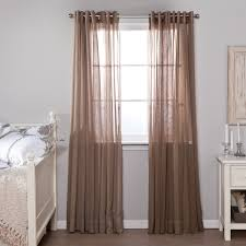 beautiful curtain furniture natural brown curtain panels for your interior
