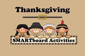 thanksgiving smartboard activities