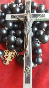 catholic gifts and more large antique rosary wall rosary catholic jewelry black
