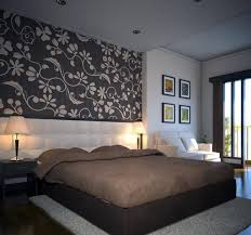 chambre avec papier peint papier peint chambre adulte des idées fantastiques 26 photos