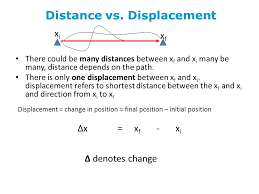 motion in one dimension ppt video online download