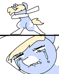 Dab Meme - 1562547 2 panel comic artist nootaz bipedal comic crying