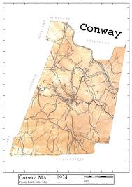 Franklin Ma Map Historic Maps Of Conway