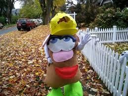 Potato Head Halloween Costume Potato Head Halloween Costume 2008