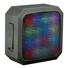 blackweb lighted bluetooth speaker review blackweb soundspark led light portable wireless speaker walmart canada
