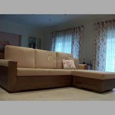 revetement canapé canapé méridienne rustique revêtement tissu socle chêne massif teinté
