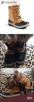 sorel tofino womens boots size 11 s sorel boots with faux fur sz 6 waterproof boots