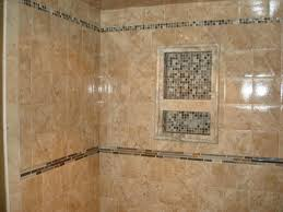 Bathroom Tile Wall Ideas Great Shower Tile Design Installed For More Interesting Looks