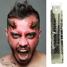 fx prosthetics for halloween stick on latex devil demon satan fx horns halloween wound fancy