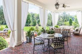 outdoor patio curtain ideas patio traditional with outdoor