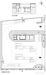 gas station floor plans shonzino gas station on architizer