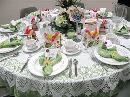 table decorations for tea party collection christmas tea table