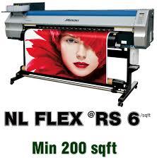 printbaskets flex printing rs 6 per sq ft
