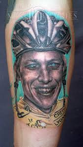 half ironman tattoo