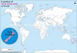 map world nz where is new zealand located on a world map