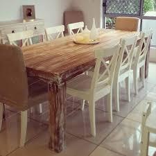 diy custom built pallet dining table ideas 99 pallets