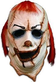 killer clown mask clown skinner mask scary killer clown