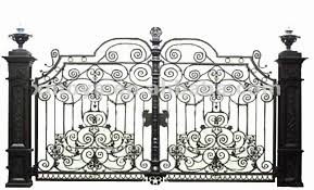 paint colors for steel tubular frame fence gate wrought iron front