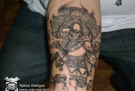 aztec warrior tattoos allcooltattoos com