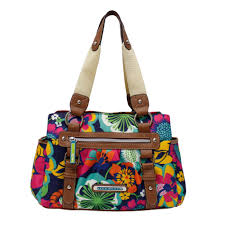 lilly bloom bloom women s section handbag floral