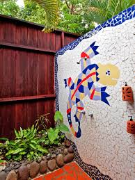 outdoor shower design ideas pictures hgtv kid friendly outdoor showers